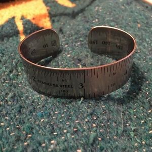 Jewelry - Steel ruler bracelet